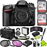 Nikon D7200 DSLR Camera (Body Only) Travel Bundle