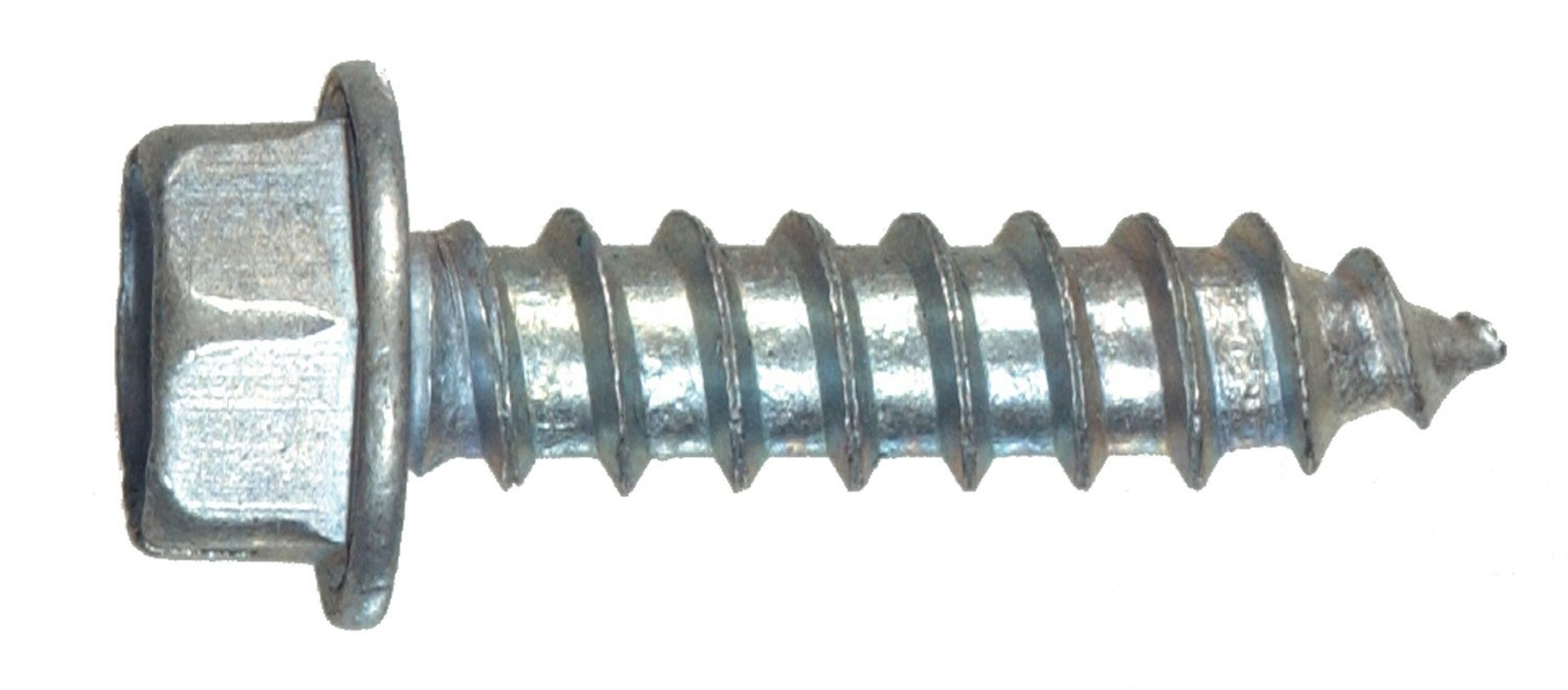 The Hillman Group 35110 Hex Washer Head Sheet Metal Screw 10 x 1-1//2 50-Pack