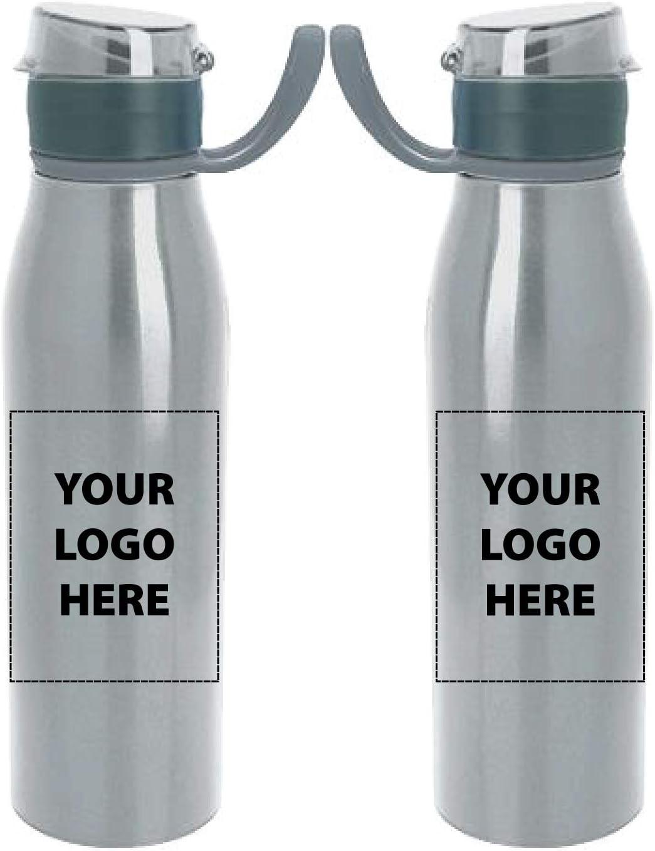 25オンス。 スペクトルボトル - 48個 - 各8.59ドル - プロモーション製品印刷 & カスタマイズされたバルク品 25 oz シルバー 45970 シルバー