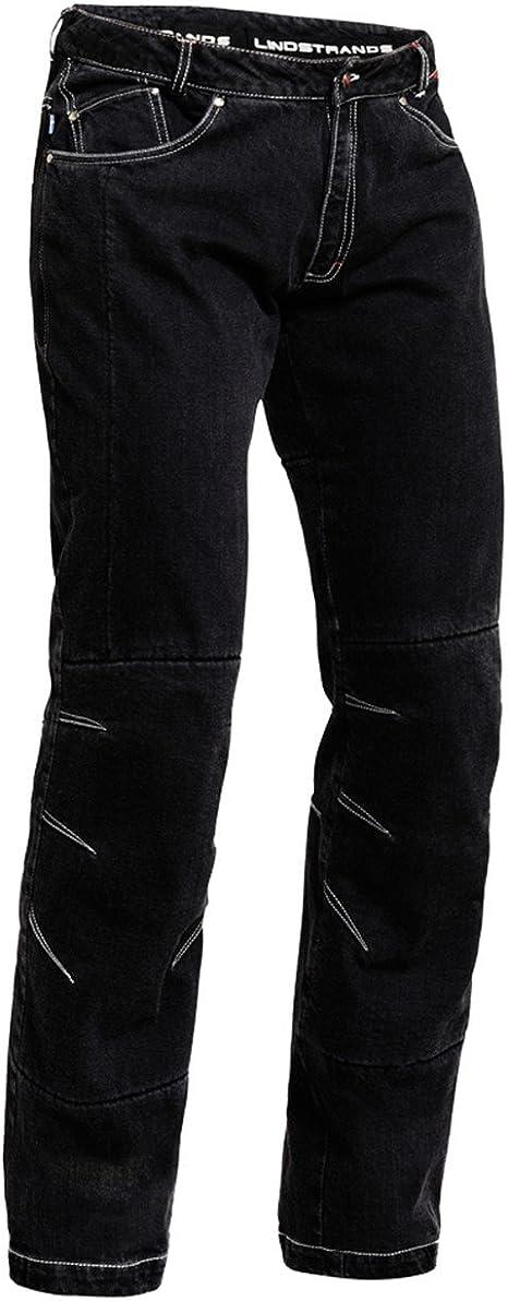 Lindstrands Wrap Jeans Unisex Denim Motorrad Hose Xl Short Leg Bekleidung