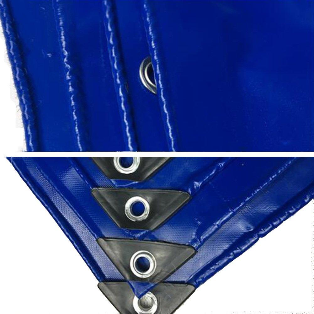 AJZXHE Regenfeste Plane, staubdichtes windfestes abnutzungsBesteändiges Antioxidans der der Antioxidans LKW-Plane Sonnenschutz im Freien im Freien, blau -Plane 6537d3
