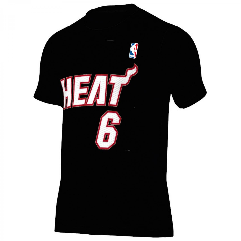 Adidas Camiseta Miami Heat Gametime -L. James- 2015 Z04224