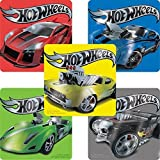 Hot Wheels Foil Stickers - Birthday Party Supplies & Favors - 50 per Pack