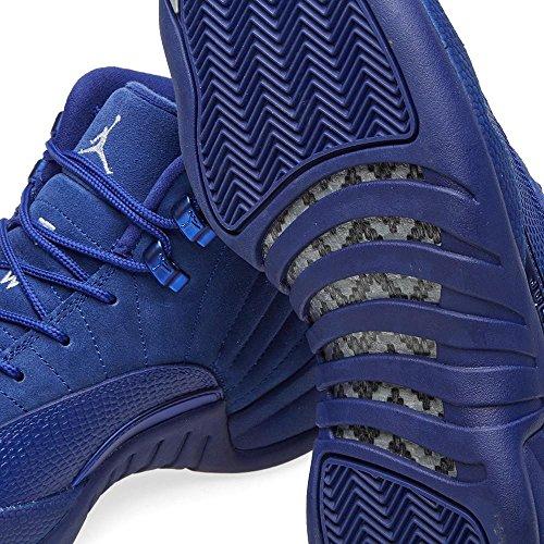 Nike 130690-400, Scarpe da Basket Uomo Deep Royal Blue, White
