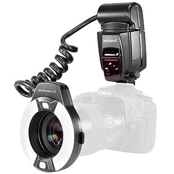 Mark Af Avec Ii6d 7d Lumière Lampe 60d À 60da Photo Macro 70d 650d Flash D'assistance Pour 5d Led Appareil Eos 700d E Ttl Neewer Canon Anneau MVpUzS