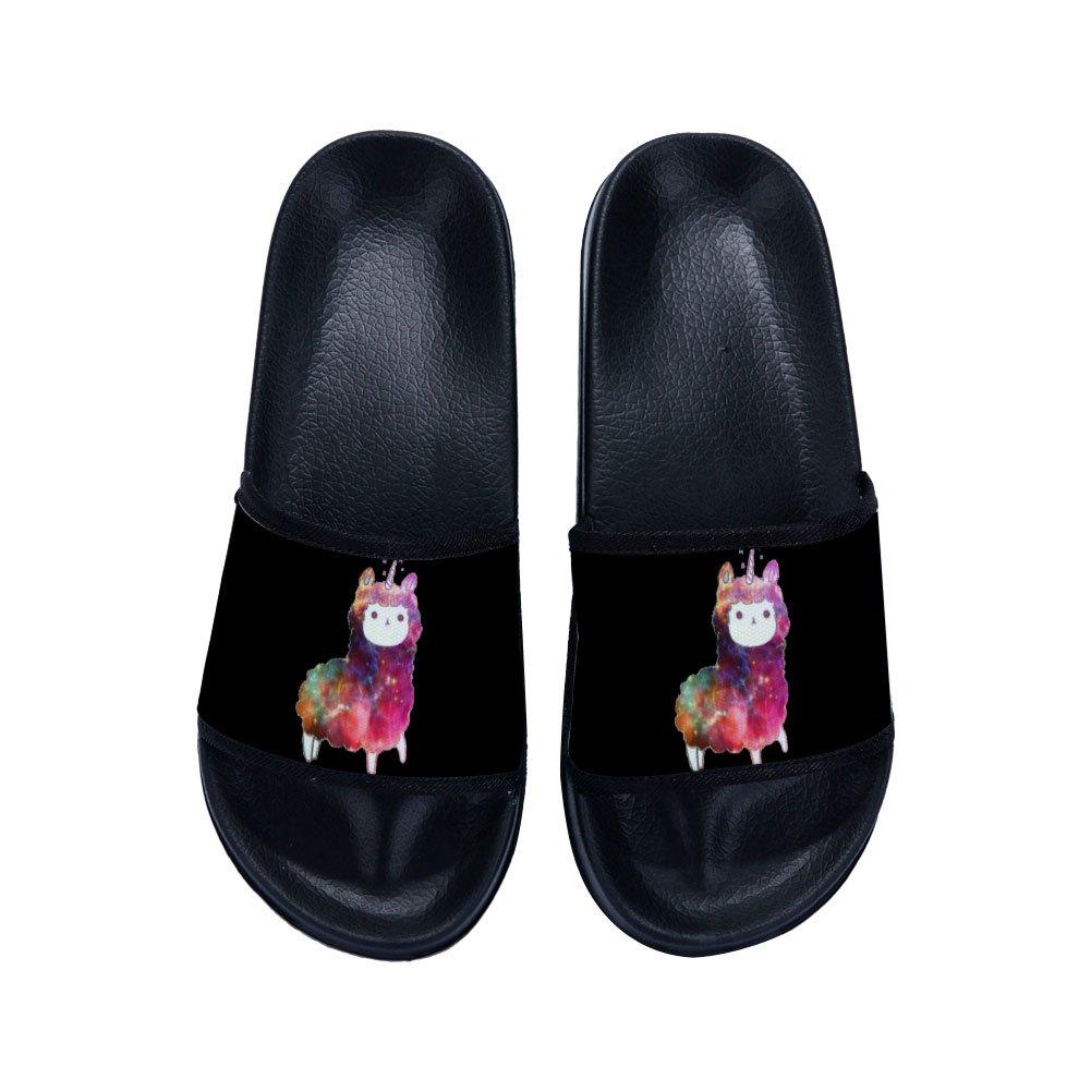 Drew Toby Boys Girls Non-Slip Shower Sandals House Bath Slippers Unicorn (Little Kid/Big Kid)