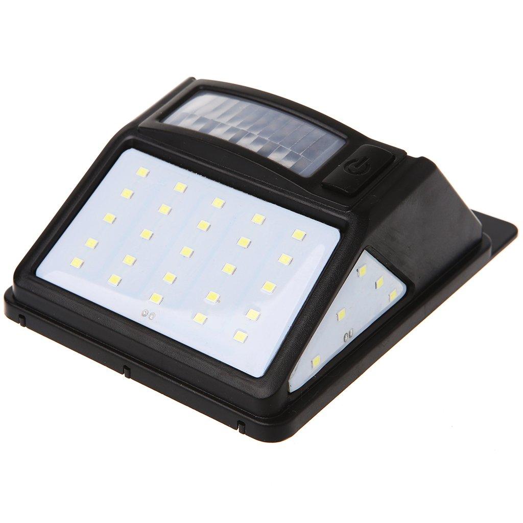 Sylive 35 LEDモーションセンサーライト – Solar Poweredのワイド角度防水アウトドアガーデン B07BFX4PTP