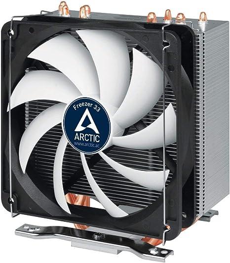 Arctic Freezer 33 - Enfriador de CPU semi pasivo con ventilador ...