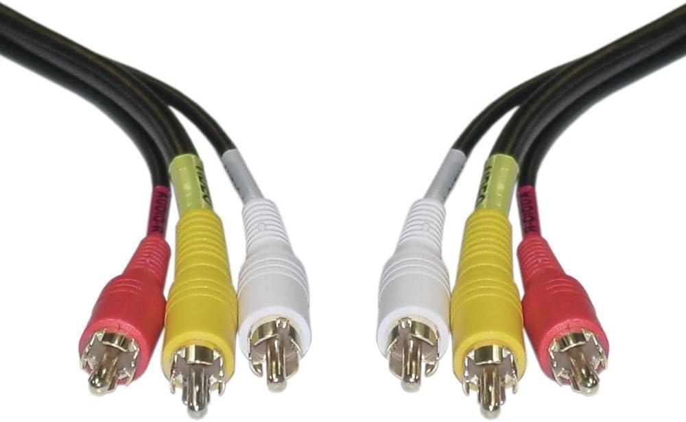 Cinch Kabel Audio Video Stecker Auf Stecker Elektronik