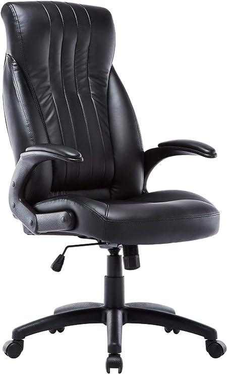 Intimate Wm Heart Faux Leather Computer Chair Ergonomic Office Chair Durable Executive Chair Black Amazon De Kuche Haushalt