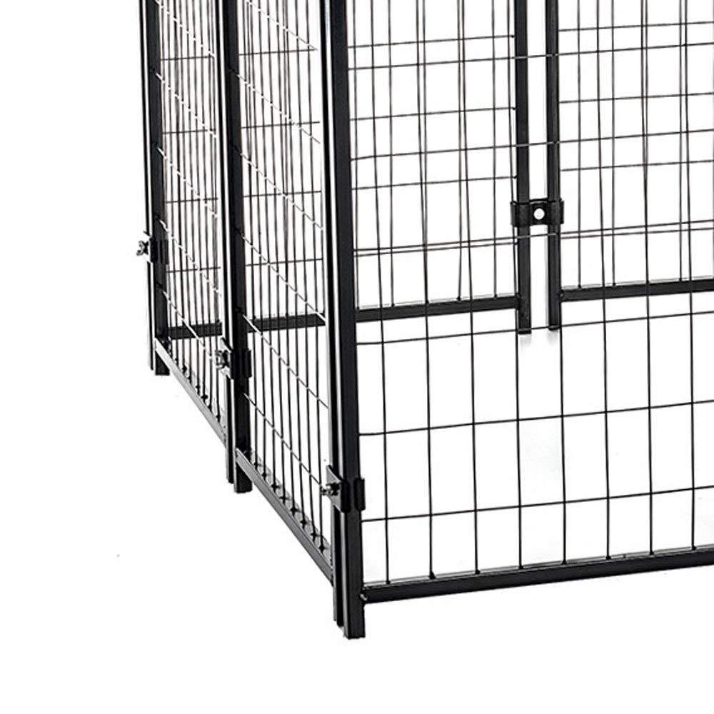 Amazon.com: Lucky Dog Uptown caseta para perros soldada ...