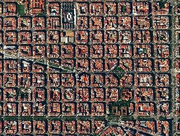 El Eixample, Barcelona, España, 500 Piece Awesome Aerial Photo ...