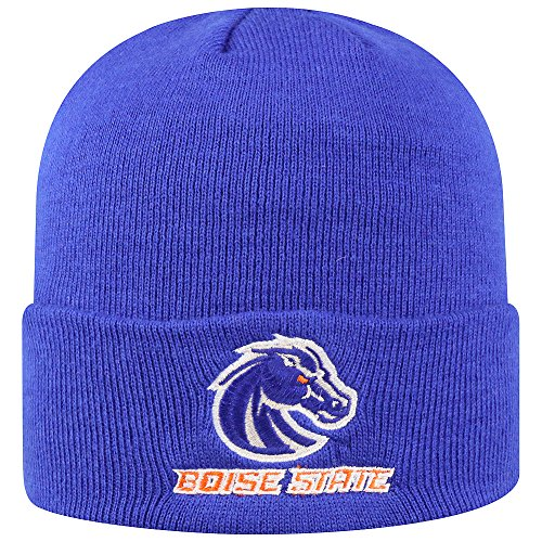 Broncos Stocking Hat: Boise State Broncos Cuffed Knit Hat, Boise State Beanie