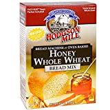 Hodgson Mill Honey Whole Wheat Bread Mix 16-Ounce Boxes (Pack of 6), Bread Mix for Bread Machines or Oven Baked Bread, Yeast Included