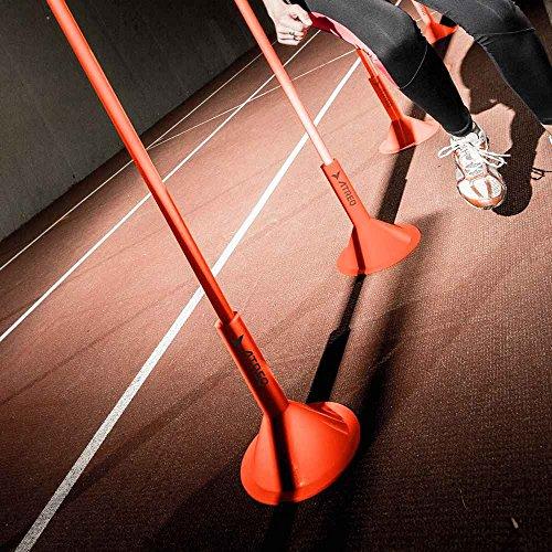 Atreq Agility Fitness Training Slalom Pole Base Only