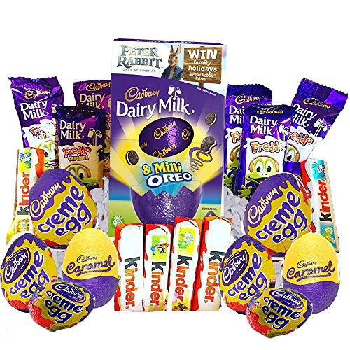 CADBURY KINDER EASTER EGG CHOCOLATE BIRTHDAY GIFT SWEETS HAMPER