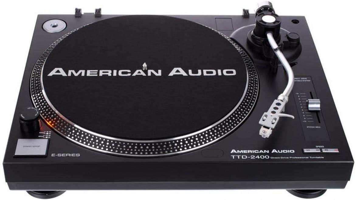American Audio TTD 2400 - Tocadiscos de tracción Directa con Motor ...