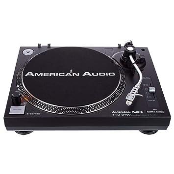 American Audio TTD 2400 - Tocadiscos de tracción Directa con ...