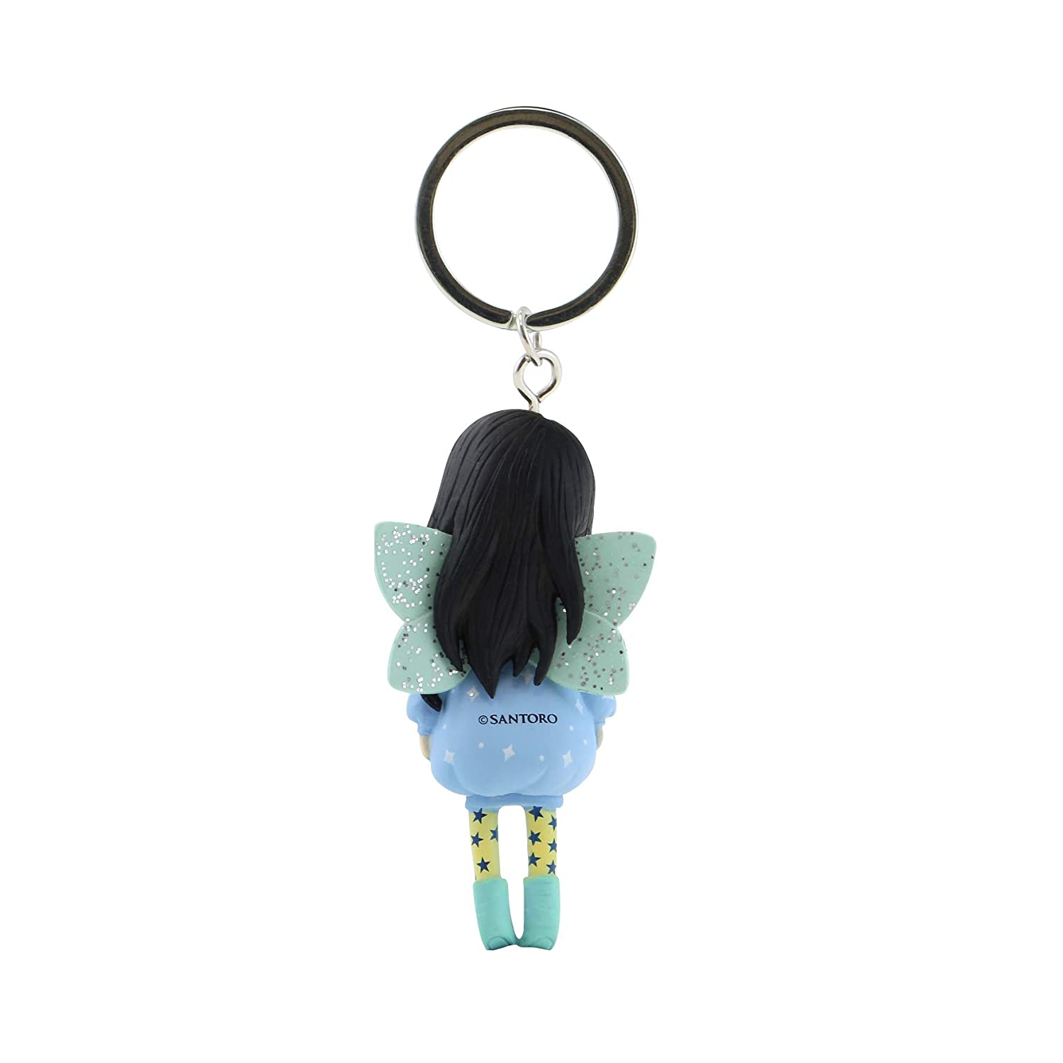 Gorjuss Figurine Keyring 631GJ09 - Bubble Fairy