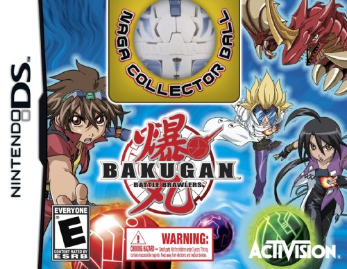 Bakugan Battle Brawlers Collector's Edition with NAGA Collector Bakugan Ball - Nintendo DS