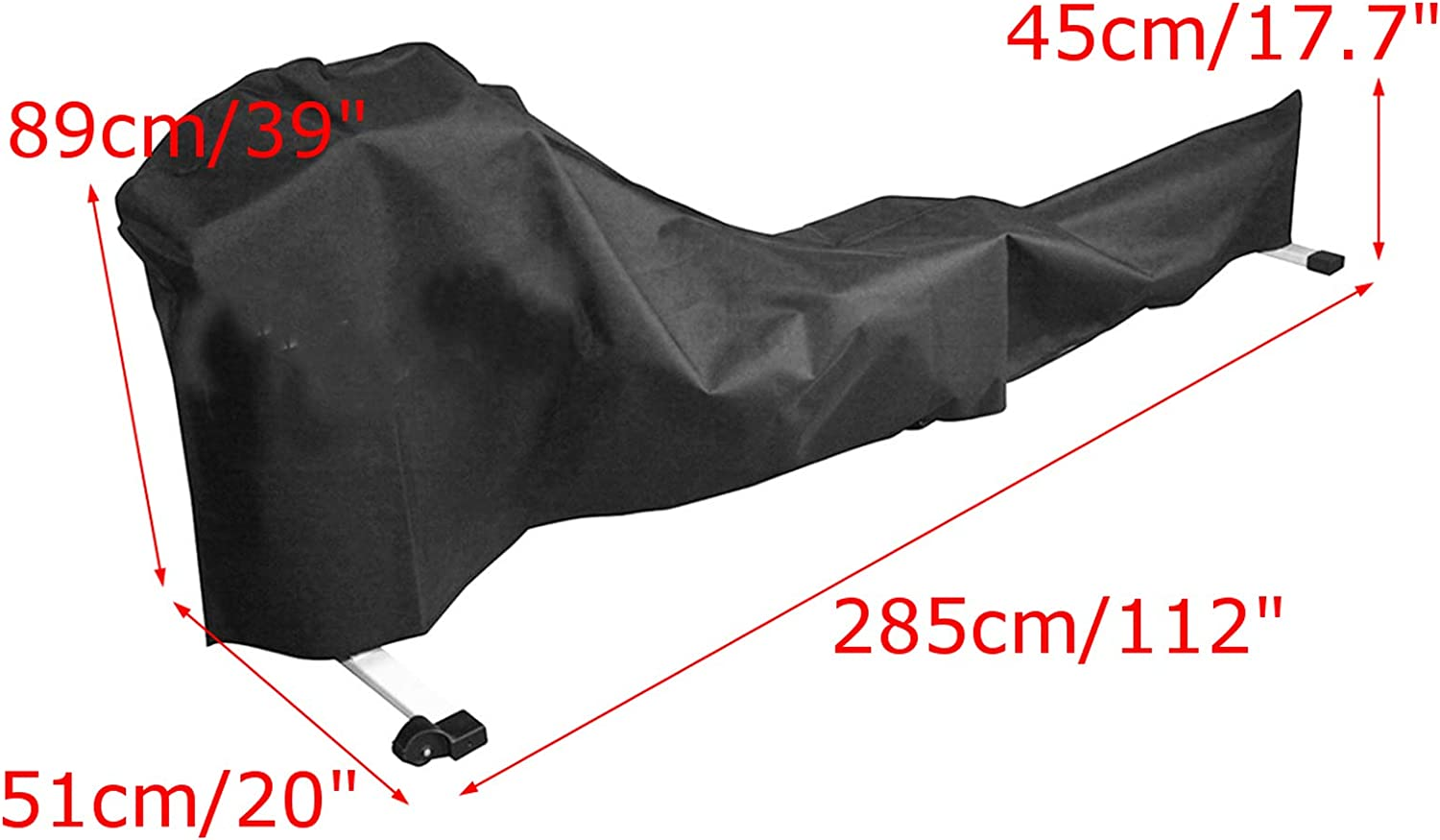 YYBF Rowing Machine Cover Fitness Equipment Covers Outdoor Waterproof Uv Protection Waterproof Dust Cover Fitness Fabric Ideal For Indoor