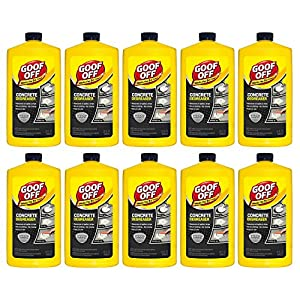 Goof Off Fg820 Concrete Degreaser, 32 Oz (10 pack)