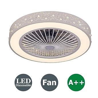 XMYX Fan Deckenlampe Deckenventilator mit LED Beleuchtung ...