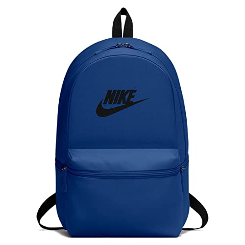 Nike Nk Heritage Bkpk, Mochila Unisex Adultos, Multicolor (Gym Blue Black),