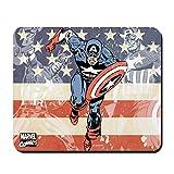 CafePress Patriotic Captain America Non-Slip Rubber Mousepad, Gaming Mouse Pad