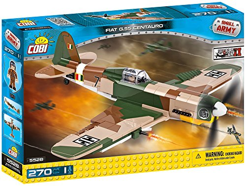 COBI Small Army Fiat G.55 Centauro Fighter Plane Building Kit