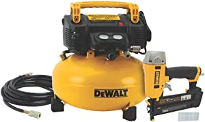 DEWALT Air Compressor Combo Kit with Brad Nailer (DWC1KIT-B)