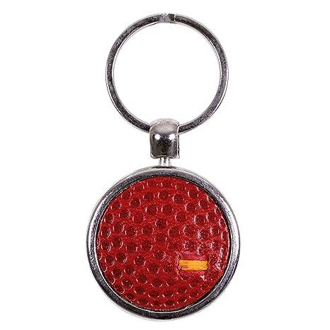 Llavero bola de Golf (rojo): Amazon.es: Equipaje