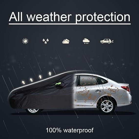 Cubierta del coche se adapta a Audi A3 Calidad Premium-Protección Uv