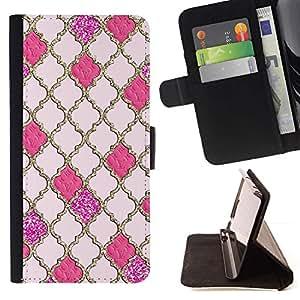 Momo Phone Case / Flip Funda de Cuero Case Cover - Reticolo dell'oro Gates God Church Peach - Sony Xperia Z1 Compact D5503