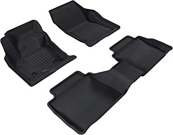 Custom Car Floor Mats for Ford Fusion 2013-2016 All Weather Waterproof Non-Slip Full Covered Protection Advanced Performance Liners Car Liner Black