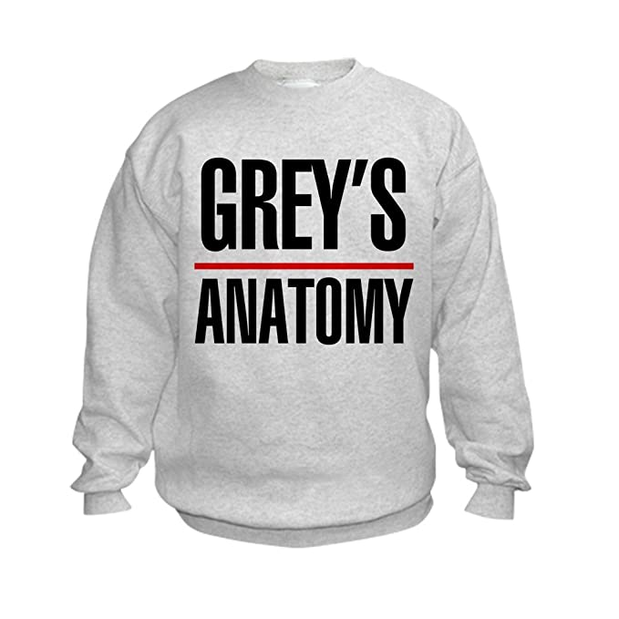 Amazon.com: CafePress - Greys Anatomy - Kids Sweatshirt, Youth Crew ...