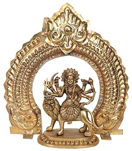 Exotic India zbu89Diosa Durga con Arco (thiruvatchi)