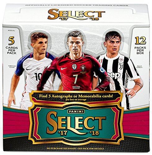 2017/18 Panini Select Soccer HOBBY box - Soccer Hobby Box