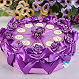 Bazaar 10pcs Cake Candy Gift Triangle Box Wedding Party Cake Sweet Chocolate Gift Boxes