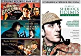 The Classic Sherlock Holmes Collection DVD + Set - 3 Films without a clue, Private Life, Hounds of Baskerville DVD Mystery Set