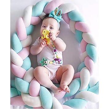 Amazon.com: Almohada de nudo suave, decorativa, para bebé ...
