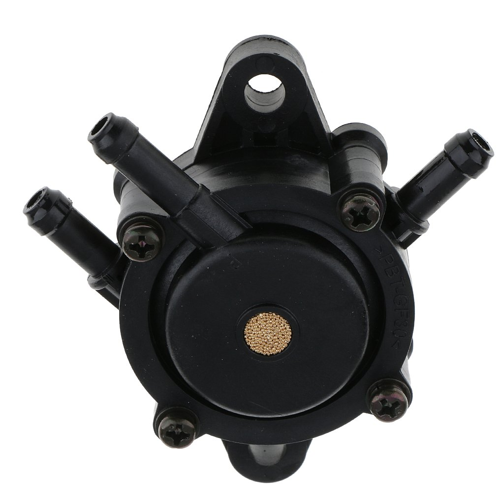 MonkeyJack 808656/491492 Black Metal Vacuum Fuel Pump for Honda 16700-ZL8-013 Kawasaki 49040-7001
