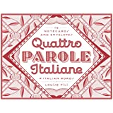 Quattro Parole Italiane: 12 Notecards and Envelopes