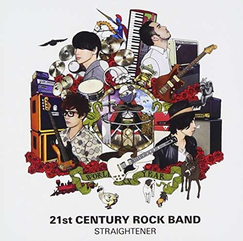 Price comparison product image Straightener - 21st Century Rock Band (CD+2DVDS) [Japan CD] TOCT-29146