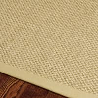 Natural Fiber Rectangular Sisal Rug (8 ft. x 5 ft.)