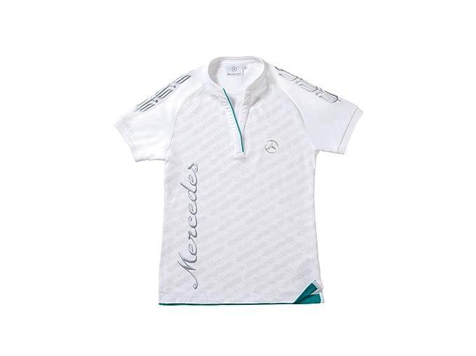 Mercedes-Benz - Camiseta - para Mujer Blanco X-Large: Amazon.es ...