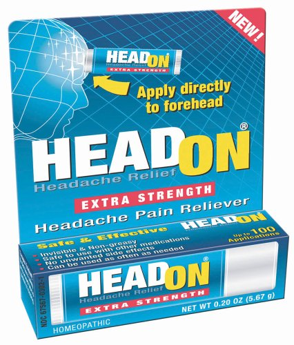 Head On Headache Pain Reliever, Extra Strength by Miralus Consumer Healthcare
