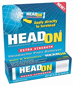Head On Headache Pain Reliever, Extra Strength