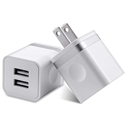 Amazon.com: Cargador de pared USB, BEST4ONE 2.1A/5V ...