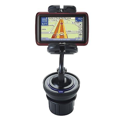 Adaptador universal para portavasos de coche y soporte para parabrisas de coche con ventosa para GPS
